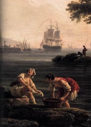 A Seashore (detail) 1776