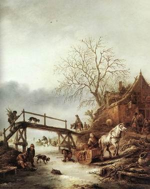 A Winter Scene c. 1645