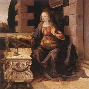 Annunciation (detail) 1472-75