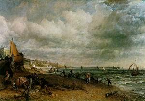Chain Pier, Brighton 1827