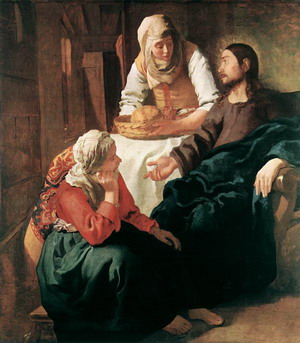 Christ in the House of Martha and Mary 1654-55
