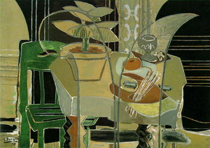 Interior with Palette 1942