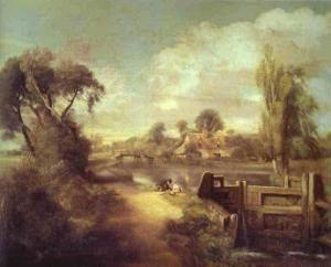 Landscape Boys Fishing. 1813
