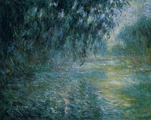 Morning on the Seine in the Rain 1897-1898