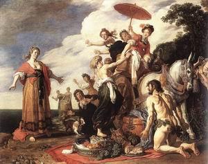 Odysseus and Nausicaa 1619