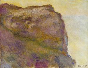 On the Cliff at Petit Ailly 1896