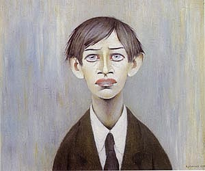 Portrait of a Young Man 1955 (Man with the red eyes)