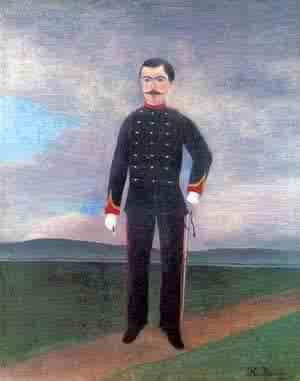 Portrait of Frumence Biche in Uniform 1892-1893