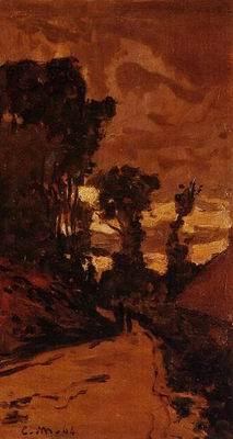 Road by Saint-Simeon Farm 1864