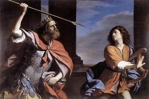 Saul Attacking David 1646