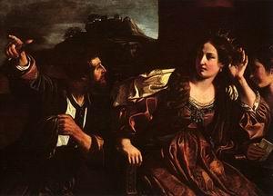 Semiramis Receiving Word of the Revolt of Babylon 1624
