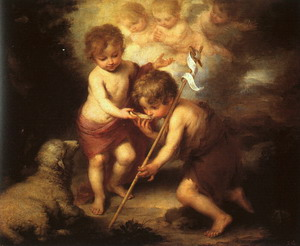The Holy Children with a Shell 1678