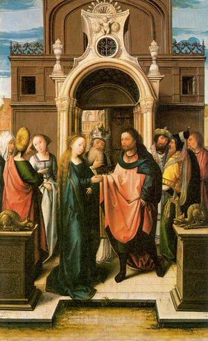 The Marriage of the Virgin 1513