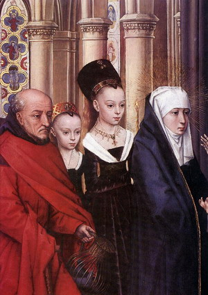 The Presentation in the Temple (detail) 1463