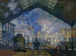 The Saint- Lazare Station2 1877