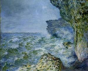 The Sea at Fecamp 1881