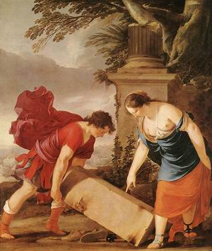 Theseus and Aethra 1635-40