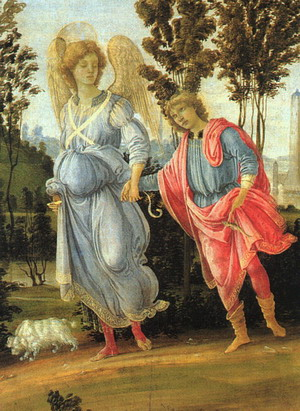 Tobias and the Angel 1480