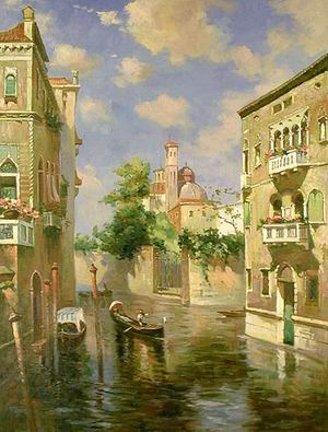 Venice Scenery (6173#)