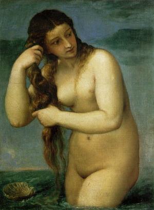 Venus Anadyomene c.1525