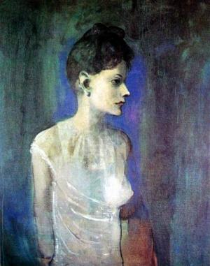 Woman in a Chemise