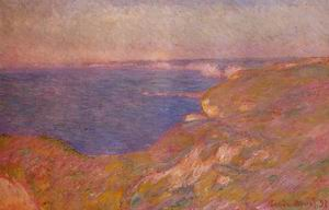 On the Cliff near Dieppe2 1897