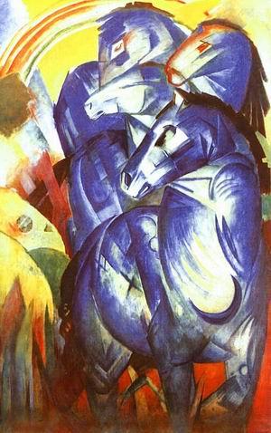 der turm der blauen pferde