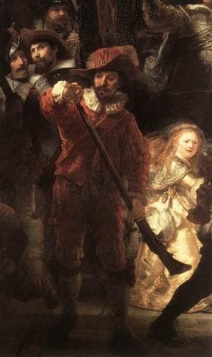 The Nightwatch (detail) 1642