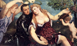 Allegory with Lovers 1550