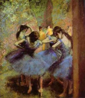 Blue Dancers. c.1890