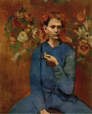 Boy with a Pipe 1905
