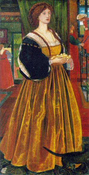 Clara von Bork 1860