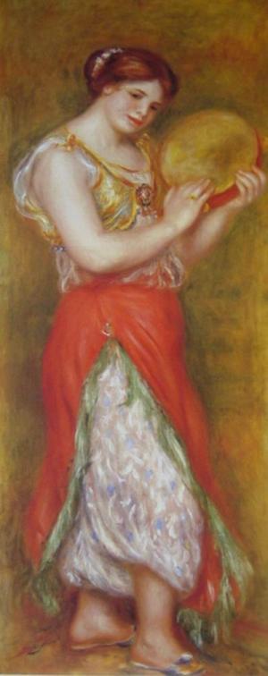 Dancing Girl with Tambourine,1904