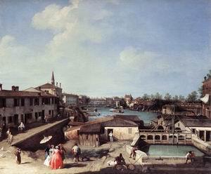 Dolo on the Brenta c. 1730-35