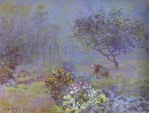 Foggy Morning, Voisins. 1874