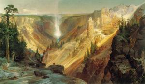 Grand Canyon of the Yellowstone 1872