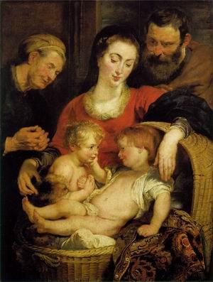 Holy Family with St Elizabeth c. 1615