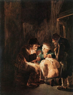 Hunting by Candlelight 1630