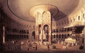 London, Ranelagh, Interior of the Rotunda 1754