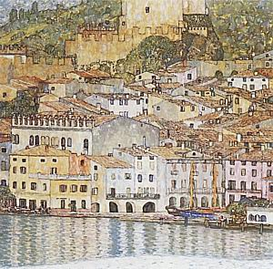 Malcesine on Lake Garda, 1913