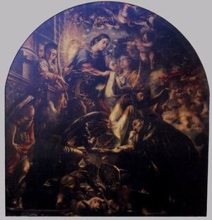 Miracle of St Ildefonsus 1661