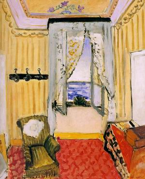 My Room at the Beau-Rivage, 1918