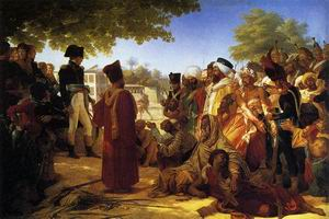 Napoleon Pardoning the Rebels at Cairo 1808