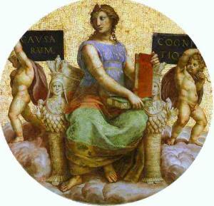 Philosophy (ceiling tondo). 1509-1511