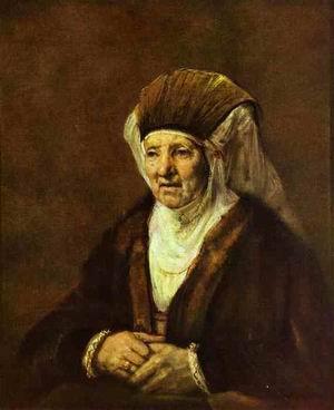 Portrait of an ld Woman. 1655