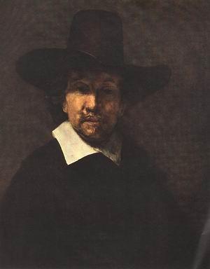 Portrait of Jeremiah Becker 1666