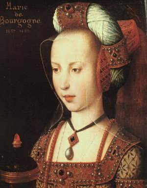 Portrait of Mary of Burgundy 1490s