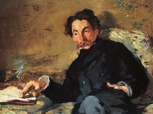 Portrait of Stephane Mallarme, 1876