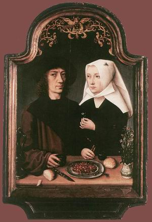 Portrait of the Artist and his Wife 1496
