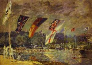 Regattas at Molesey. 1874